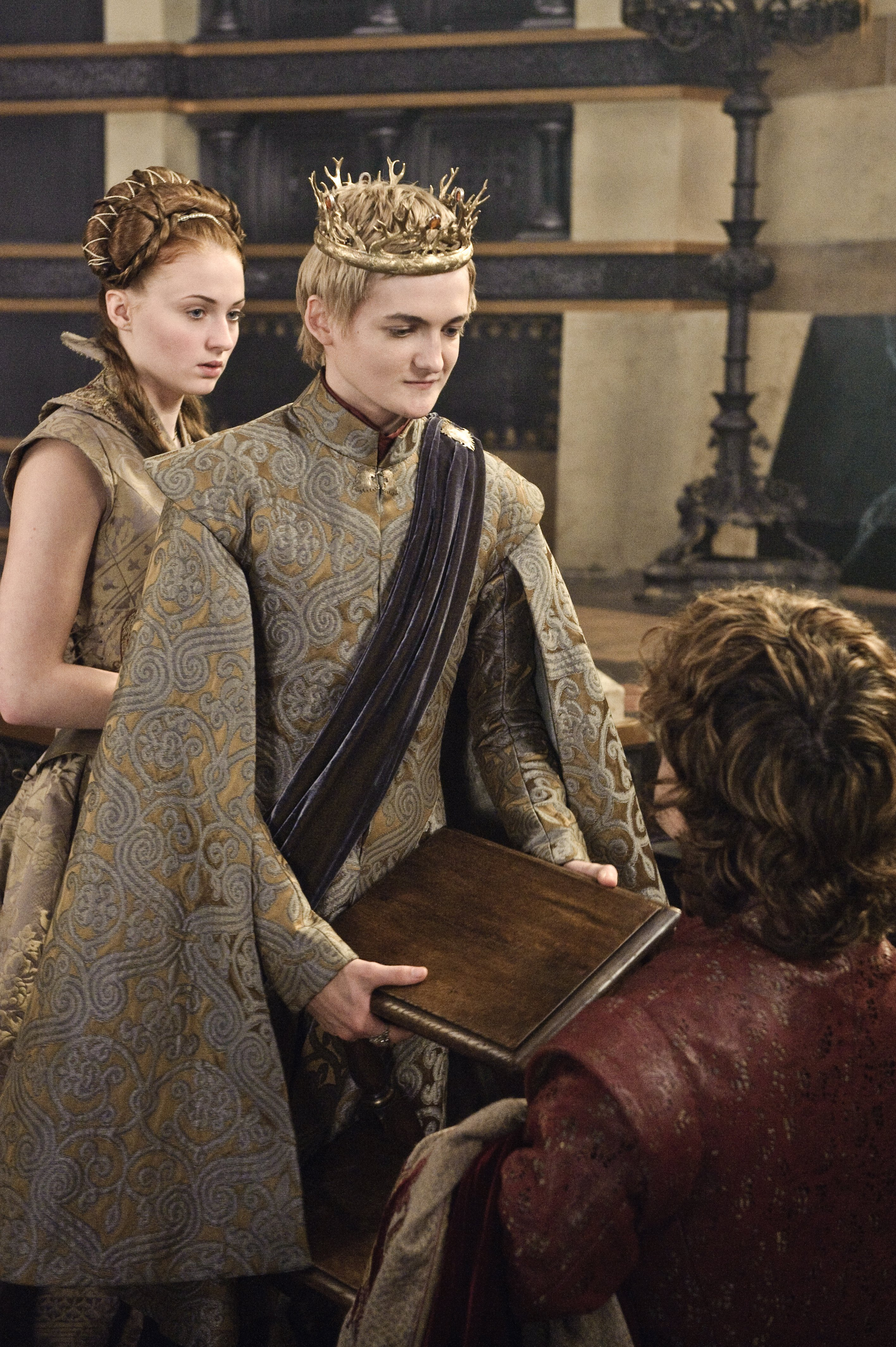 Sansa Stark, Tyrion Lannister & Joffrey Baratheon
