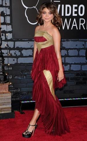Sarah Hyland at MTV VMAs