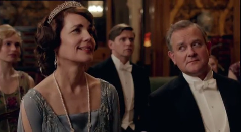 Downton Abbey پیپر وال with a business suit called Season 4 Trailer