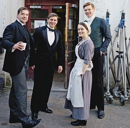 Downton Abbey hình nền with a business suit titled Season 4