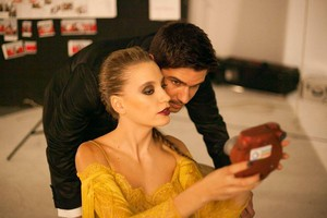 Serenay Sarikaya and Tolgahan Sayisman ♥