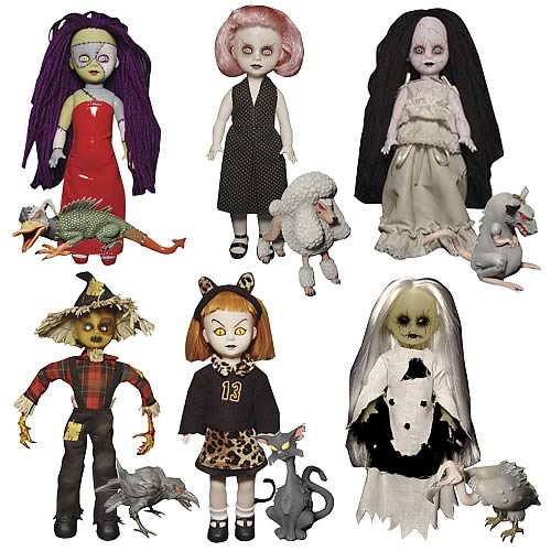 Living Dead Dolls پیپر وال possibly containing a surcoat, a tabard, and an outerwear entitled Series 666