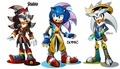 Shadow Sonic Silver  - sonic-the-hedgehog photo
