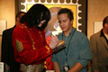 Signing An Autograph For A Fan - michael-jackson photo