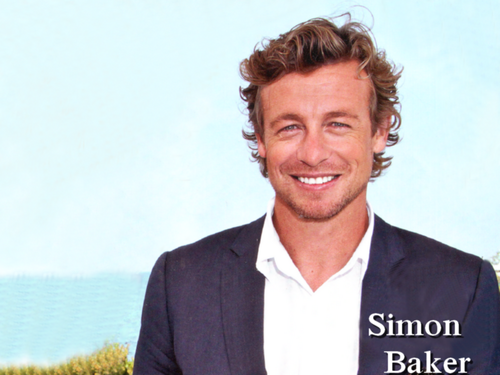Simon Baker wallpaper probably containing a business suit called Simon Baker