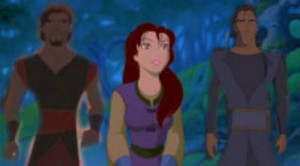 Sinbad, Kayley,and Proteus