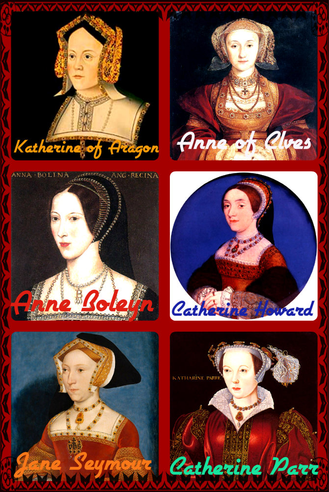 The Six Wives Of Henry VIII Images Collage HD Wallpaper And Background Photos