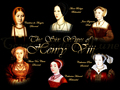 Six Wives of Henry VIII collage