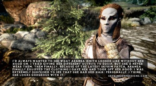Elder Scrolls V : Skyrim wallpaper called Skyrim Confessions