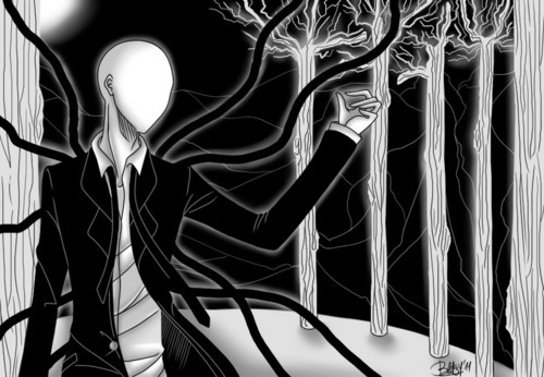 The Slender Man wallpaper entitled Slender Man