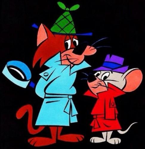 Hanna Barbera karatasi la kupamba ukuta probably with anime titled Snooper & Blabber