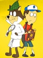 Snooper & Dipper - hanna-barbera fan art
