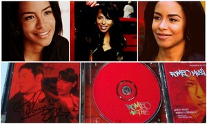 Something I wouldn't trade for anything else in the world! My RMD soundtrack signed kwa Aaliyah!! <3
