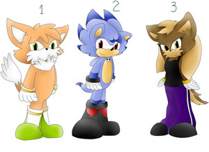 Sonic অনুরাগী characters