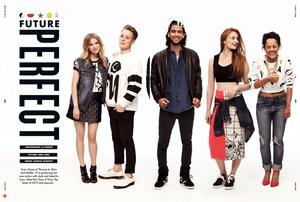 Sophie Turner 【ASOS Magazine; Oct 2013】