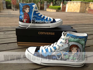 Spirited Away Converse
