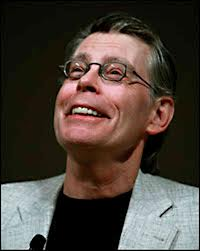 Stephen King wallpaper possibly with a portrait titled Stephen King