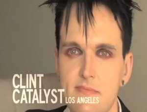 Still Frame of Clint Catalyst from The Adonis Factor