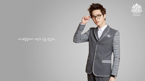 EXO-K wallpaper with a business suit, a suit, and a well dressed person entitled Suho