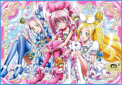 pretty cure 壁紙 with アニメ entitled Suite Precure