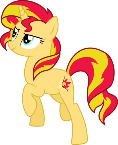 My Little Pony Friendship is Magic wallpaper titled Sunset Shimmer