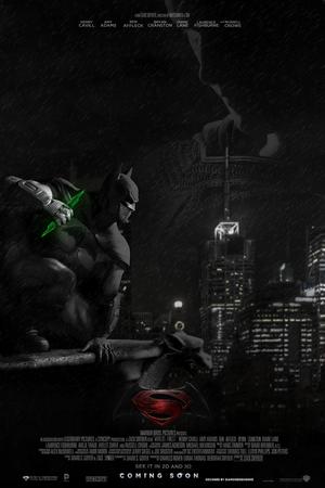 슈퍼맨 vs 배트맨 2015 (FAN MADE) Poster