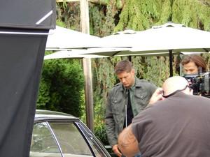 sobrenatural Filming