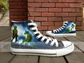 TMNT hand painted sneaker - teenage-mutant-ninja-turtles fan art
