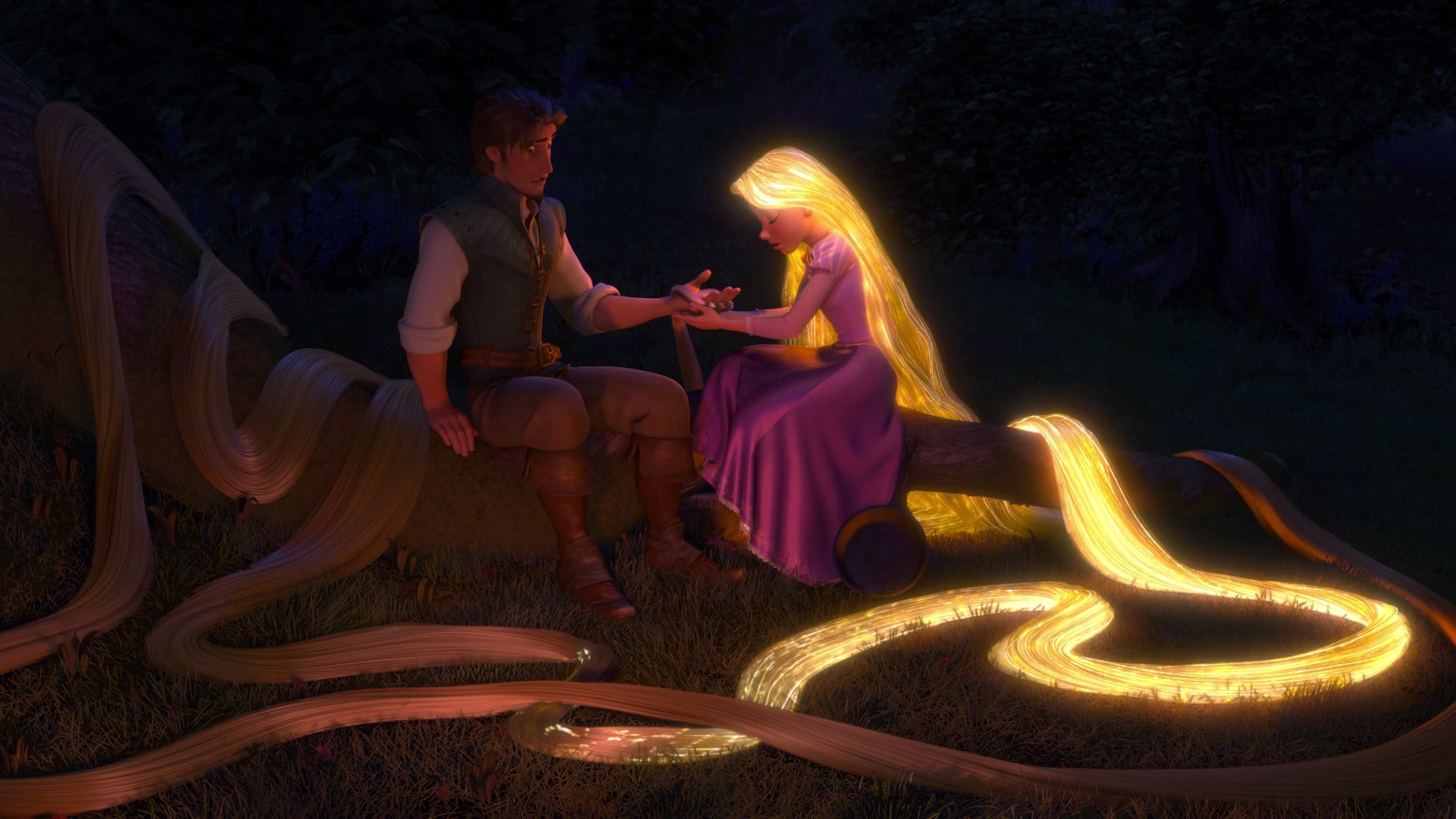 Tangled Healing Incantation Disney Songs Fanpop