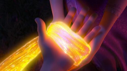 Disney Songs karatasi la kupamba ukuta entitled Tangled - Healing Incantation
