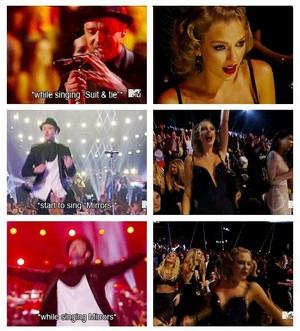 Taylor is #1 Justin Timberlake fangirl