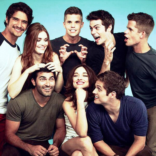 Teen Wolf wallpaper entitled Teen Wolf cast for Tv Guide