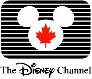 The disney Channel Canada logo (1988-1997)