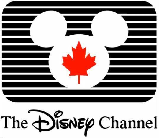 The Disney Channel Canada logo (1988-1997)