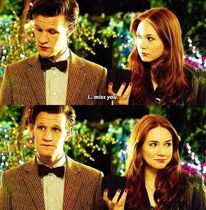 The Doctor and Amy :)