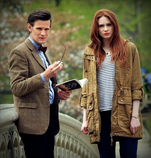 The Doctor and Amy