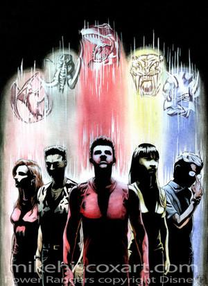 The Five Original MMPR Rangers