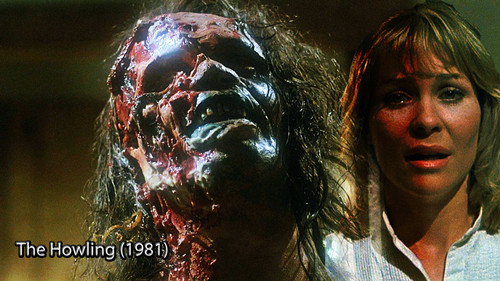 Horrorfilme Hintergrund entitled The Howling 1981