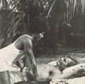 The Interracial 사랑 Scene From 1973 Bond Film,