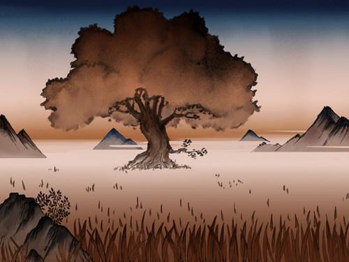 Avatar, La Légende de Korra fond d'écran possibly with a sunset called The Legend of Korra Book 2 art.