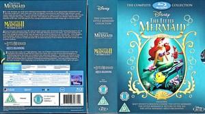 The Lillte Mermaid - Uk Trilogy Blu-Ray Box