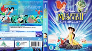 The Little Mermaid II: Return to the Sea - UK Blu-Ray Disc Cover Art