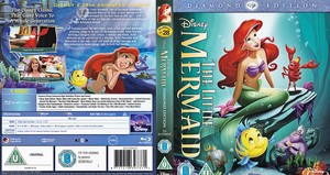 The Little Mermaid - UK Disc Cover Art