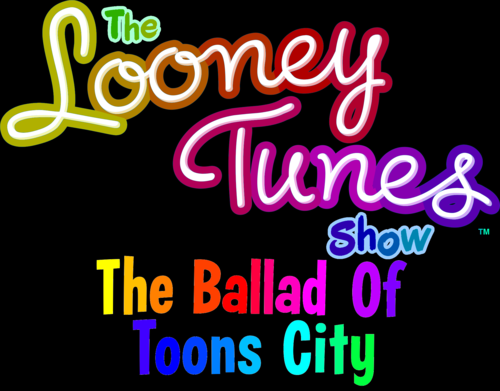 The Looney Tunes প্রদর্শনী দেওয়ালপত্র entitled The Looney Tunes Show: The Ballad of Toons City