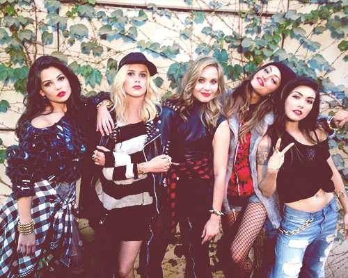 The Originals Girls for Nylon Magazine