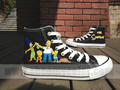 The Simpson cartoon shoes - the-simpsons fan art