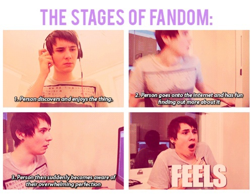 Fangirls wallpaper called The Stages Of A Fangirl!
