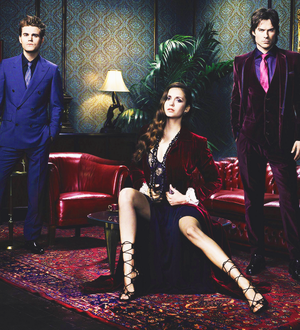 The Vampire Diaries new season 4 promotional outtakes