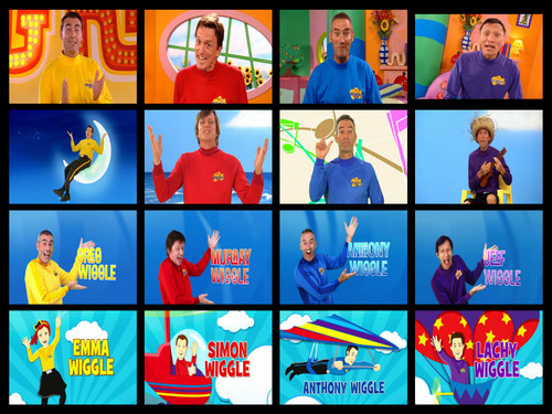 THE WIGGLES fondo de pantalla with anime called The Wiggles