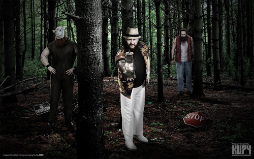WWE wallpaper called The Wyatt Family